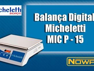 Balança Digital Micheletti MIC P-15