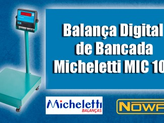 Balança Digital de Bancada Micheletti MIC 100