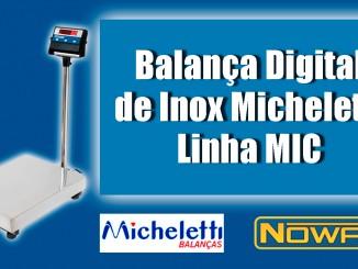 Balança Digital de Inox Micheletti Linha MIC