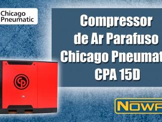 Compressor de Ar Parafuso Chicago Pneumatic CPA 15D