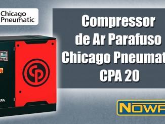Compressor de Ar Parafuso Chicago Pneumatic CPA 20