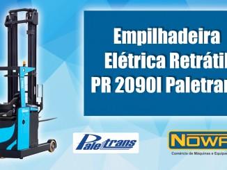 Empilhadeira Elétrica Retrátil PR 2090I Paletrans
