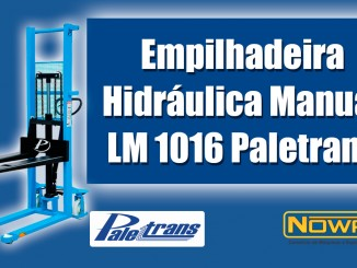 Empilhadeira Hidráulica Manual LM 1016 Paletrans