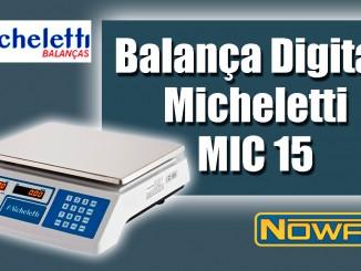 Balança Digital Micheletti MIC 15