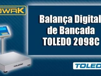Balança Digital de Bancada Toledo 2098C