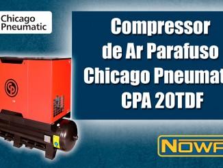 Compressor de Ar Parafuso Chicago Pneumatic CPA 20TDF