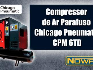 Compressor de Ar Parafuso Chicago Pneumatic CPM 6TD