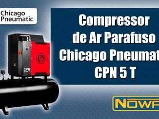 Compressor de Ar Parafuso Chicago Pneumatic CPN 5 T