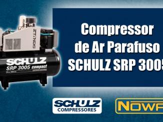 Compressor de Ar Parafuso Schulz SRP 3005