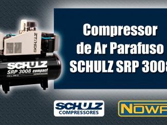 Compressor de Ar Parafuso Schulz Compact SRP 3008
