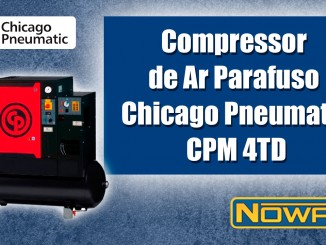 Compressor de Ar Parafuso Chicago Pneumatic CPM 4TD
